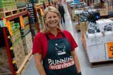 Jacqui Coombes, chief executive of Bunnings, which is planning six new stores.  Photo / Paul Estcourt