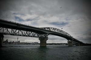 The man was found in the water near the harbour bridge on Saturday. Photo / File / Chris Skelton