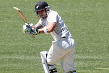 An attacking Brendon McCullum is more use than the tenacious, tentative version in South Africa. Photo / APN