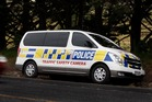 New Police speed camera van on SH1. Photo / John Stone