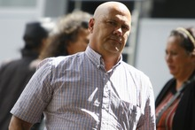 National MP Tau Henare was in court to support his nephew who was on drugs charges. Photo / Michael Cunningham