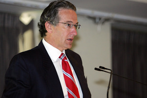 EnviroWaste's chairman Kim Ellis. Photo / NZPA