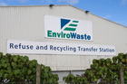 Envirowaste refuse station, Auckland. Photo / NZPA 