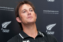 Bowling coach Shane Bond. Photo / NZPA