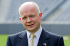 British Foreign Secretary William Hague. Photo / NZPA