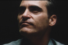 Joaquin Phoenix plays a troubled soul drawn in by Philip Seymour Hoffman's guru philosopher. Photo / Supplied