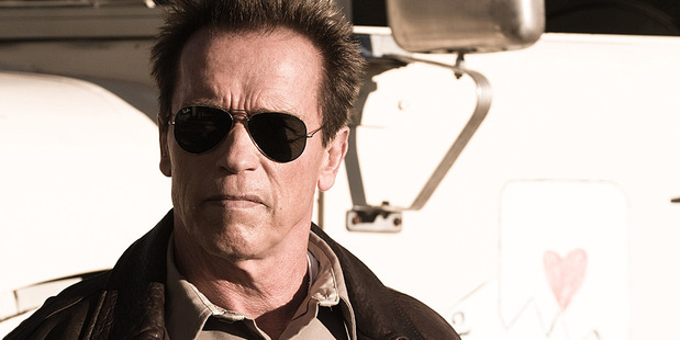 Arnold Schwarzenegger in The Last Stand. Photo/AP