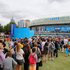 Tennis fans arrive at Melbourne Park on day one of the 2013 Australian Open. Photo / Getty Images