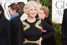 HIT: Legend Helen Mirren looks incredible in Badgley Mishka. Photo / AP
