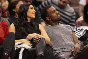 Kim Kardashian and Kanye West soon to be planning their new life together. Photo / AFP
