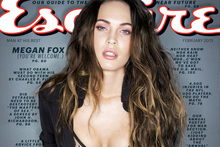 Megan Fox on the cover of Esquire. Photo/AP