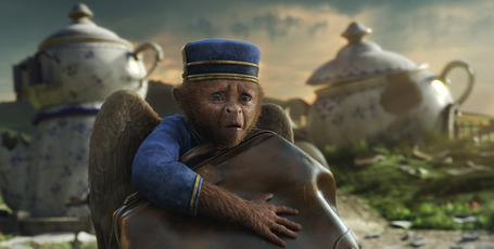 A winged monkey in Oz: The Great and Powerful. Photo/supplied