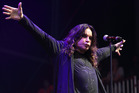 Ozzy Osbourne performs at the Lollapalooza festival. Photo/AP