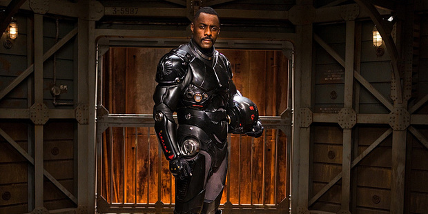 Idris Elba in Pacific Rim. Photo/supplied
