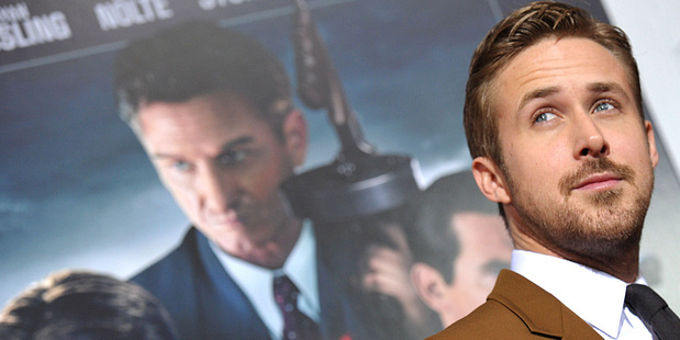 Ryan Gosling at the Los Angeles premiere of Gangster Squad. Photo/AP