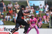 Jesse Ryder in action for the Wellington Firebirds. Photo / Getty Images