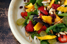 A delicious summer salad with mango. Photo / HOS