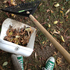 The tools required to clean the Aussie Walkabout at Auckland Zoo. Photo / Hannah Sarney