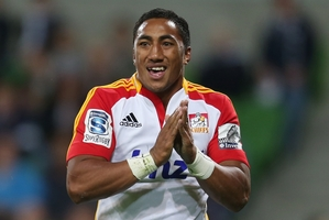 Bundee Aki is surprised at how he has adapted to Super rugby. Photo / Getty Images