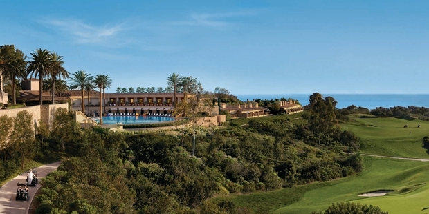 Pelican Hill Golf Club in Southern California was named the Best Golf Resort in the World by 'Conde Nast Traveler' magazine. Photo / Supplied