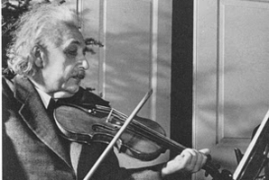 Albert Einstein was pretty handy on the fiddle.
