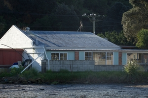 Alan Strid's home in Little Waihi has proved to be his worst nightmare. Photo / Alan Gibson
