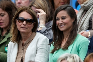 William has seen what a united family the Middletons, including sister Pippa and mother Carole, are. Photo / AP
