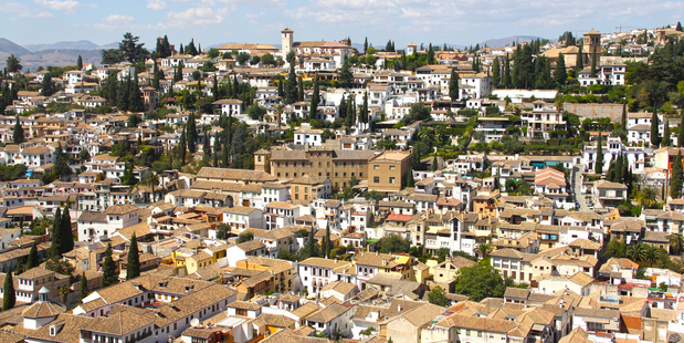 Gazing on the view of the Alhambra. Photo / Thinkstock