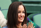 Pippa Middleton has arrived to meet her new nephew.Photo / Getty