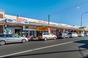 A freehold block of six adjoining shops at 1885-1897 Great North Rd, Avondale, is for sale at auction on August 7.