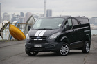 Ford Transit Custom Photo / David Linklater DRIVEN USE ONLY