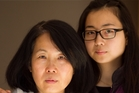 Hsiu-Ting Chen and daughter Rebecca Ma, who says she's never seen her mother cry before. Photo / Richard Robinson