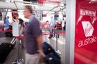 Brisbane's airport is one of the busiest in Virgin Australia's network. Photo / Bloomberg