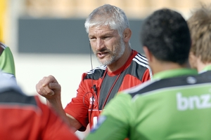 Crusaders coach Todd Blackadder appears to be someone who can put the game in its place. Photo / Geoff Sloan
