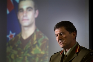 Army head Major General David Gawn was embarrassed by the court of inquiry report. Photo / Greg Bowker