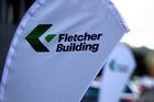 Fletcher Building fell 2.8 per cent to $8.27. Photo / Steven McNicholl