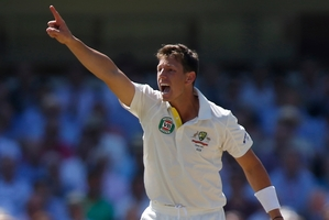 James Pattinson has signed for the Melbourne Renegades hours after being ruled out of the Ashes. Photo / AP