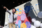 Passion Pit front man Michael Angelakos has been open and honest about his recent health troubles. Photo / AP