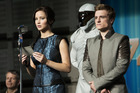 Jennifer Lawrence and Josh Hutcherson in The Hunger Games: Catching Fire. Photo / AP