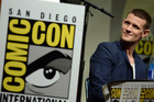 Matt Smith participates in the Doctor Who 50th Anniversary panel on Day 5 of Comic-Con International. Photo / AP