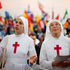 Nuns attend a Catholic Mass ahead of World Youth Day in Sao Paulo, Brazil. Photo / AP