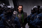 Loki, played by Tom Hiddleston, in the Avengers.