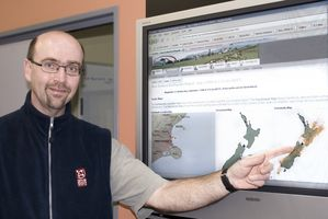 John Ristau is a duty seismologist at GNS.