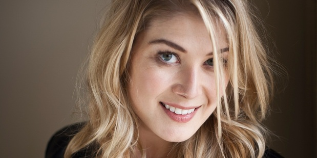 Rosamund Pike stars in the movie 'The World's End'. Photo / David Crane