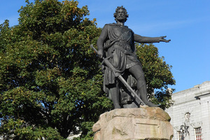 Sir William Wallace fought for Scottish independence.