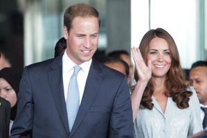 The birth of William's heir lets us look even further into the future. Photo / AP