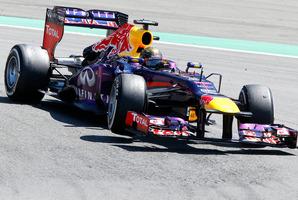 Red Bull driver Sebastian Vettel. Photo / AP