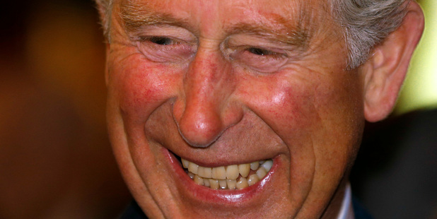 First-time grandfather Prince Charles is celebrating the birth of the third-in-line to the British throne.