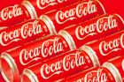 Coke's New Zealand division today starts an advertising campaign which expressly mentions the obesity problem and highlights steps it will take to tackle the issue. Photo / AP