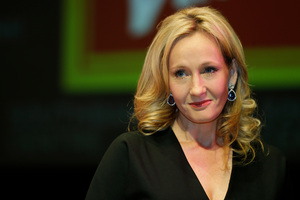 British author J.K. Rowling has been revealed as a secret crime author.Photo / AP